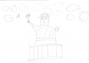 The Statue of Liberty by Mr 7.