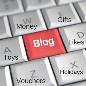 What defines a sponsored blog post
